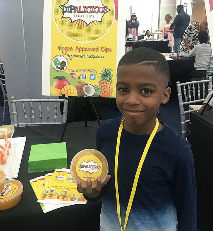 11-year-old chef opens vegan restaurant