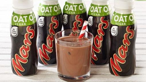 Mars has started to sell a vegan chocolate milkshake